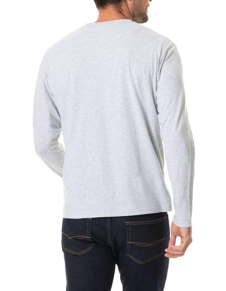 Long Sleeve Gunn T-Shirt - Pebble image 3