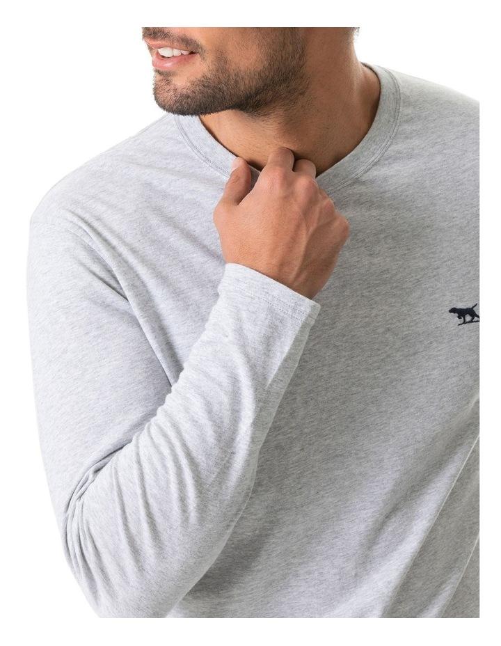 Long Sleeve Gunn T-Shirt - Pebble image 4