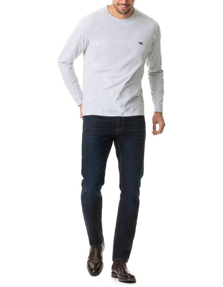 Long Sleeve Gunn T-Shirt - Pebble image 5