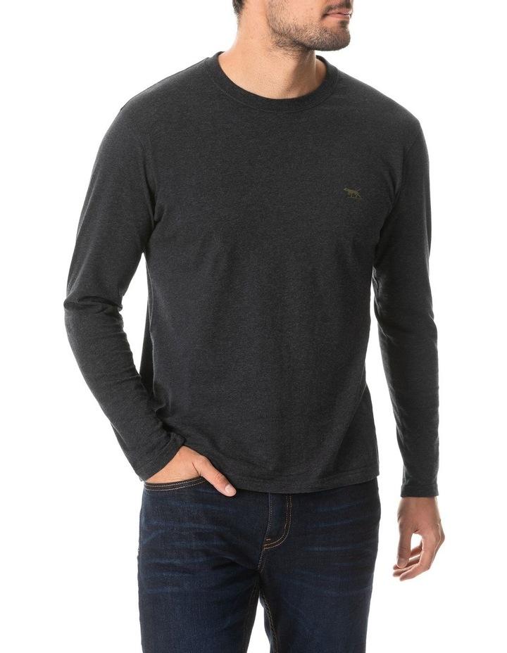 Long Sleeve Gunn T-Shirt - Charcoal image 1