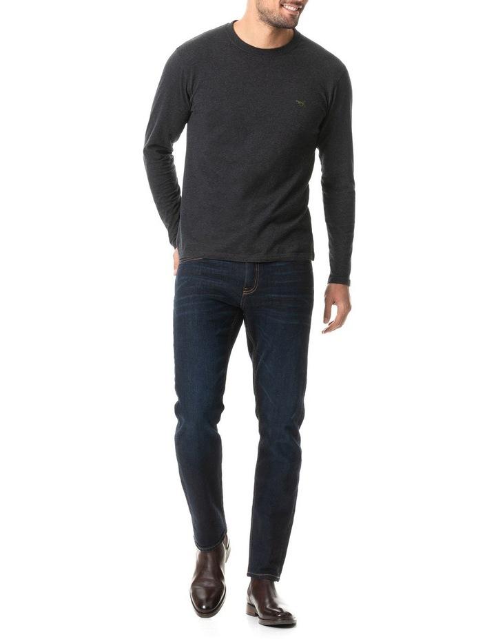 Long Sleeve Gunn T-Shirt - Charcoal image 5