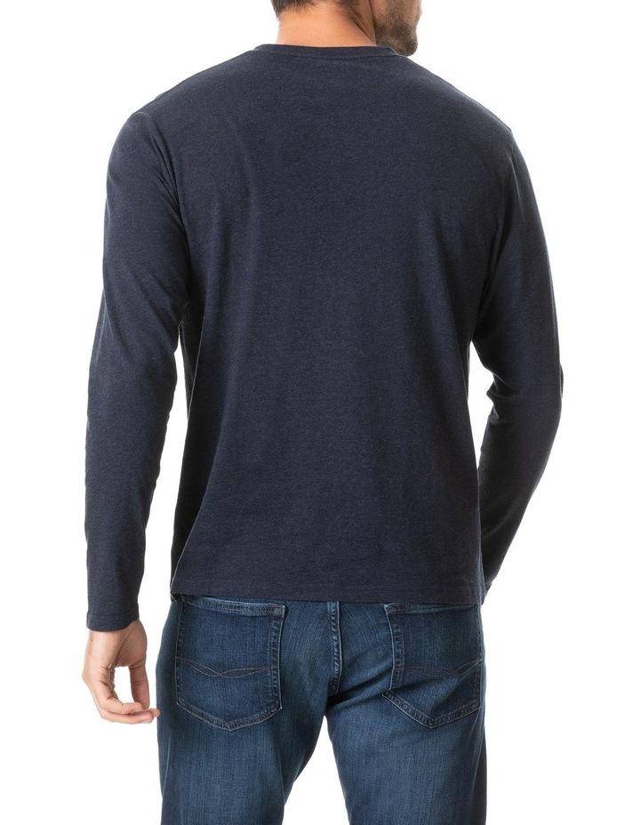 Long Sleeve Gunn T-Shirt - Navy image 3
