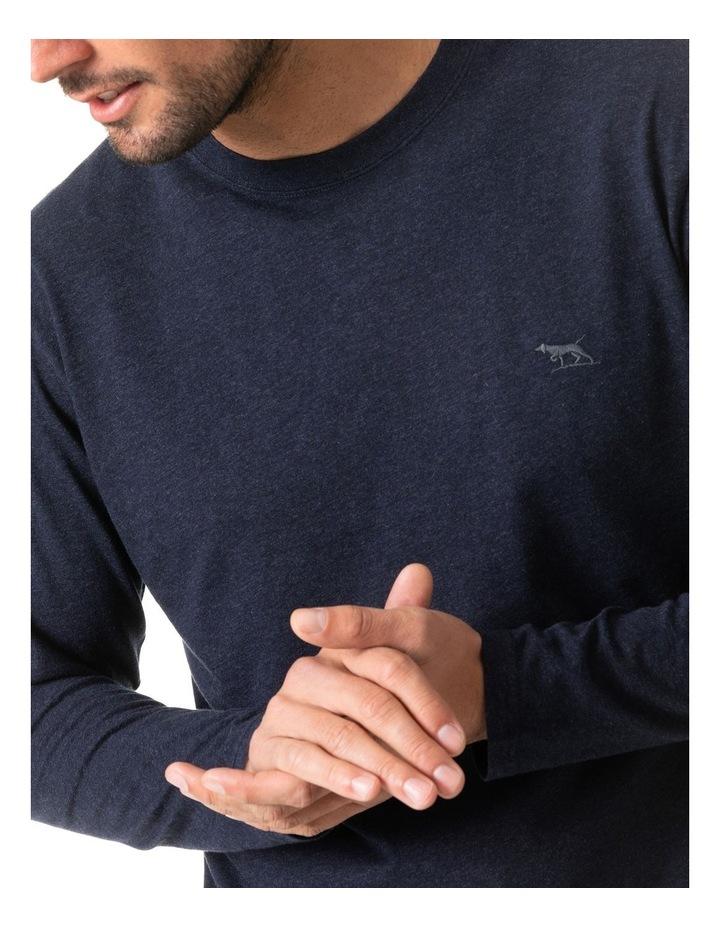 Long Sleeve Gunn T-Shirt - Navy image 4