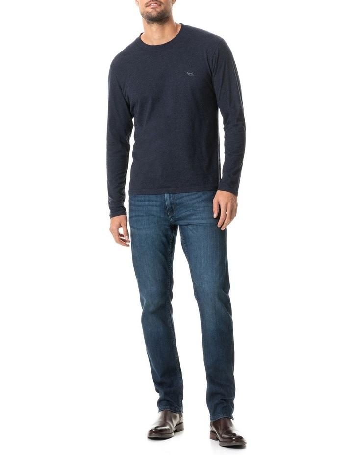 Long Sleeve Gunn T-Shirt - Navy image 5