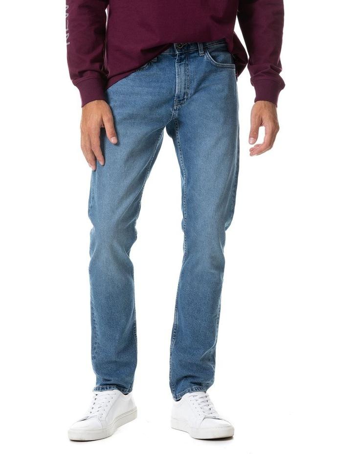 Lowry Straight Fit Jean Short Leg - Sky Blue image 1