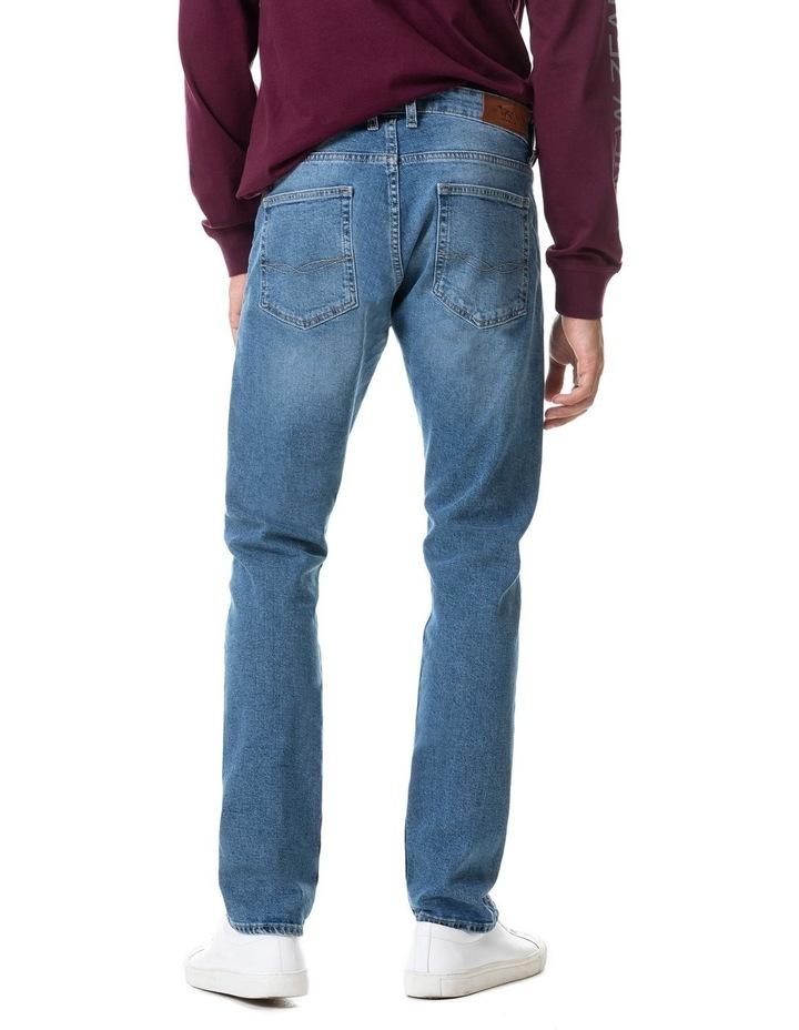 Lowry Straight Fit Jean Short Leg - Sky Blue image 4