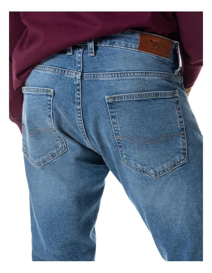 Lowry Straight Fit Jean Short Leg - Sky Blue image 5