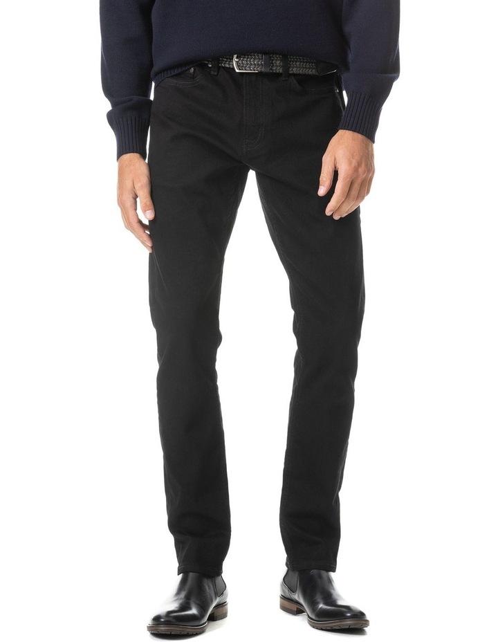 Longburn Straight Fit Jean Short Leg - Nero image 1