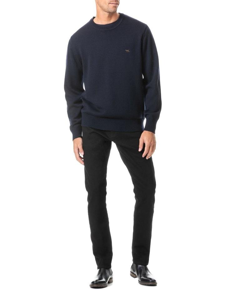 Longburn Straight Fit Jean Short Leg - Nero image 2