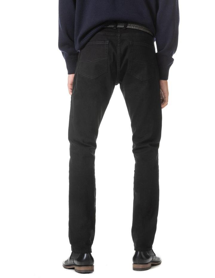 Longburn Straight Fit Jean Short Leg - Nero image 4
