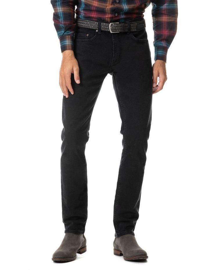 Dunmore Slim Jean Short Leg - Coal image 1
