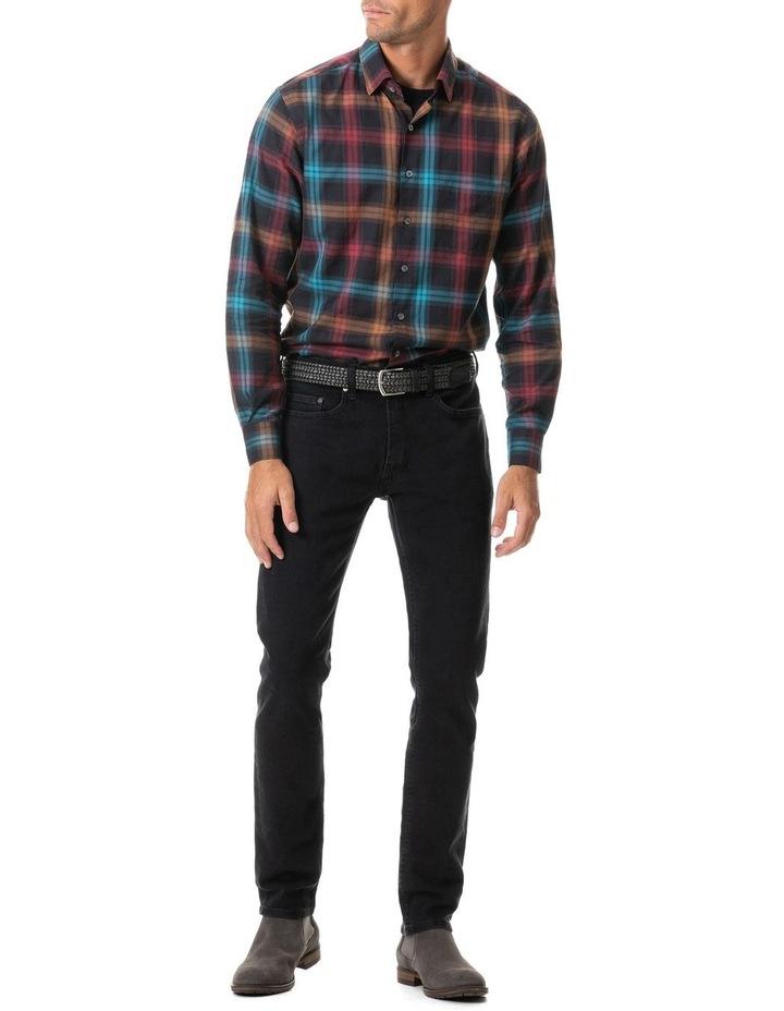 Dunmore Slim Jean Short Leg - Coal image 2
