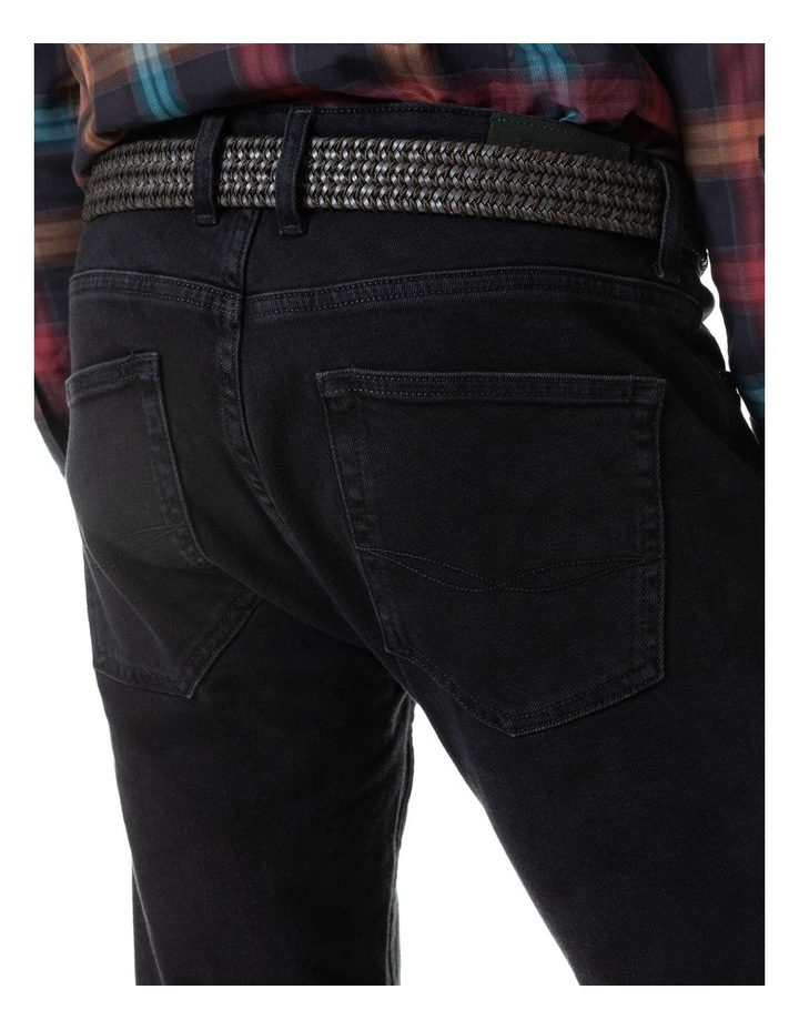 Dunmore Slim Jean Short Leg - Coal image 4