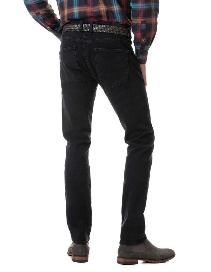 Dunmore Slim Jean Short Leg - Coal image 5