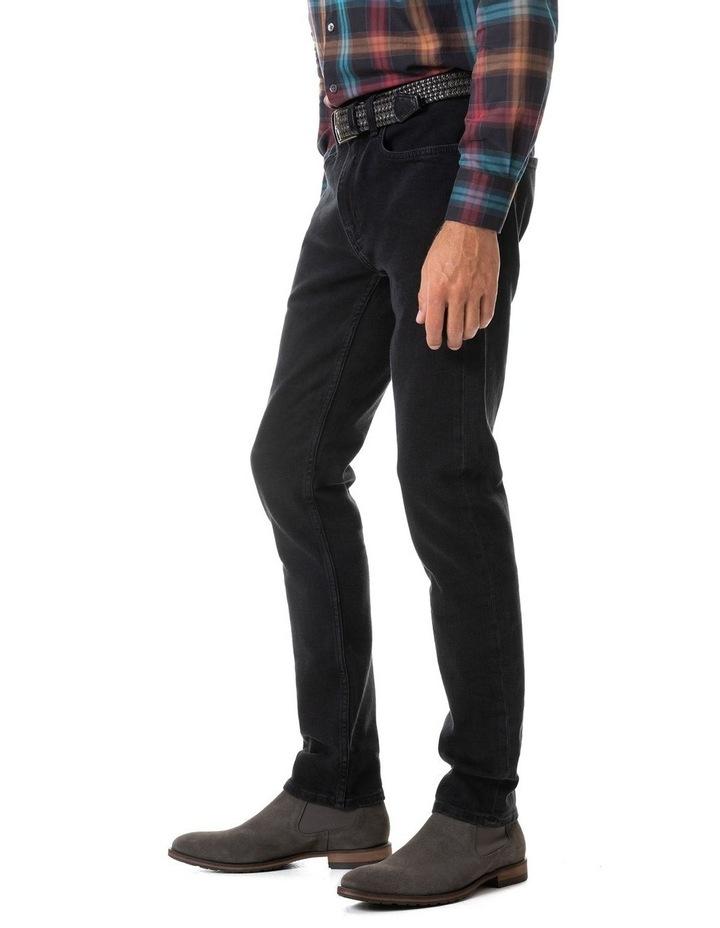 Dunmore Slim Jean Long Leg - Coal image 3