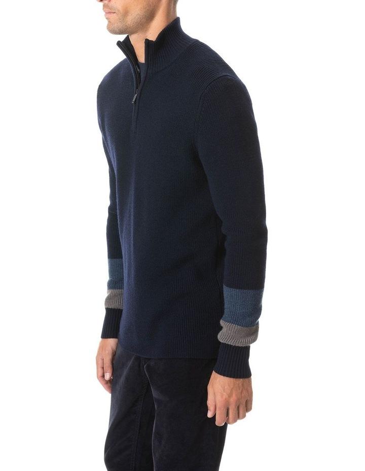 Meremere Knit - Navy image 2