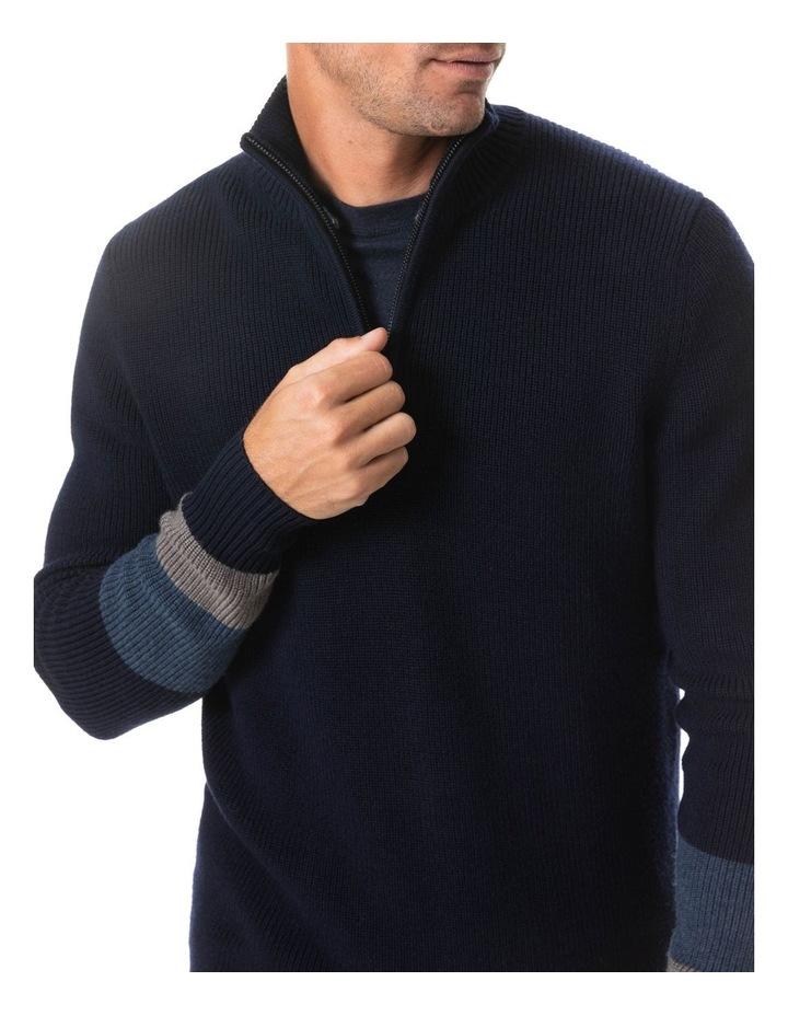 Meremere Knit - Navy image 4