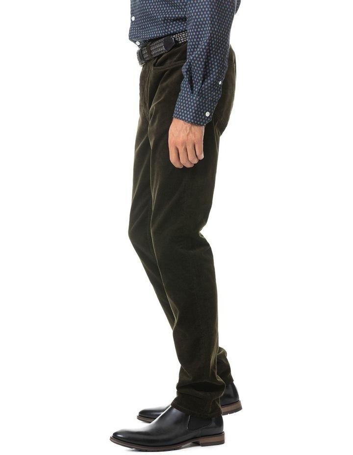 Stirling Straight Jean Regular Leg - Olive image 2