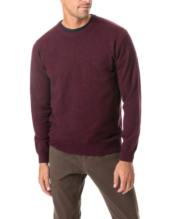 Wellington Knit - Claret image 1