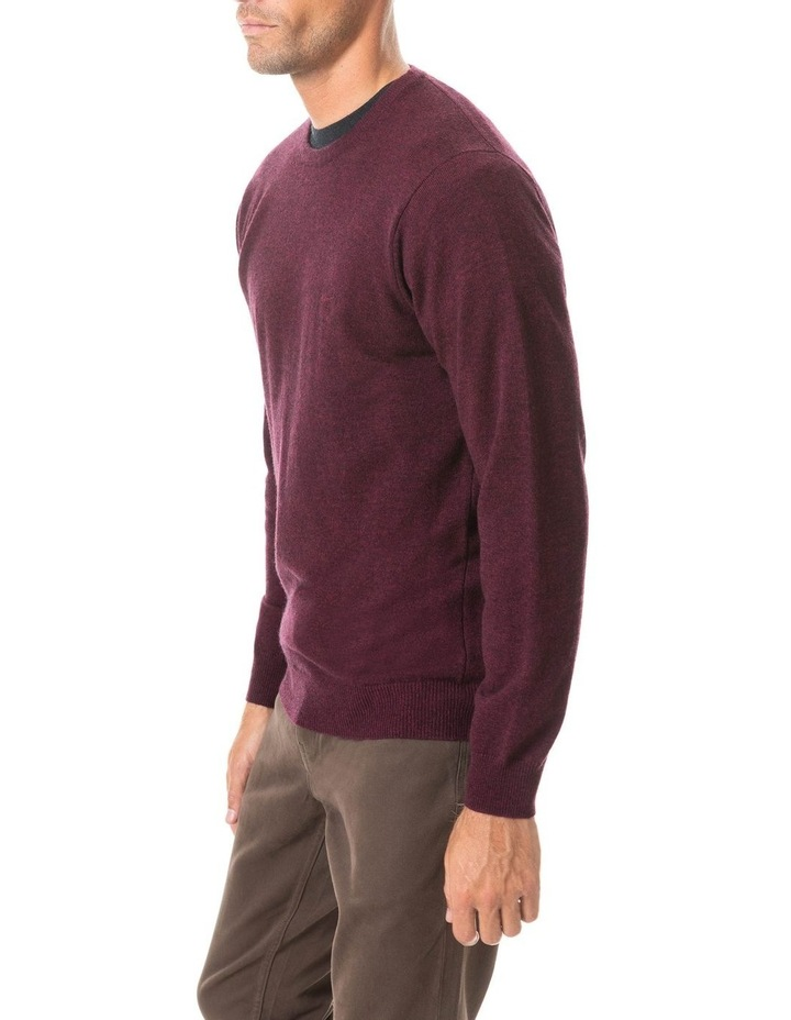 Wellington Knit - Claret image 2