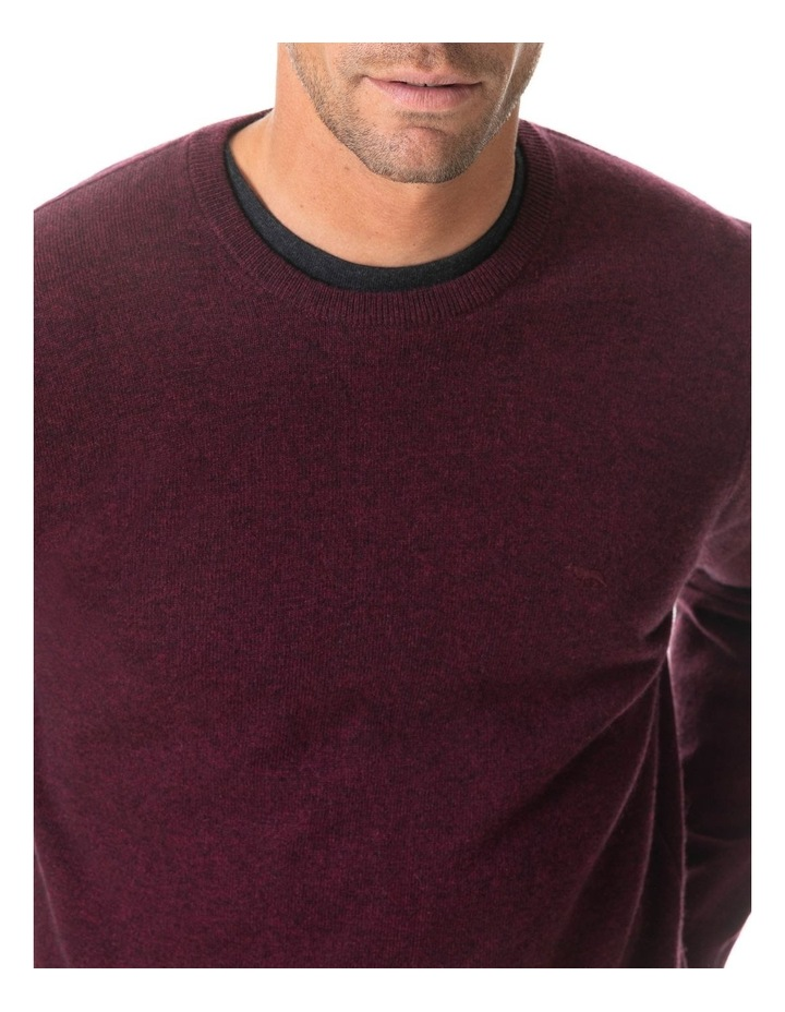 Wellington Knit - Claret image 3
