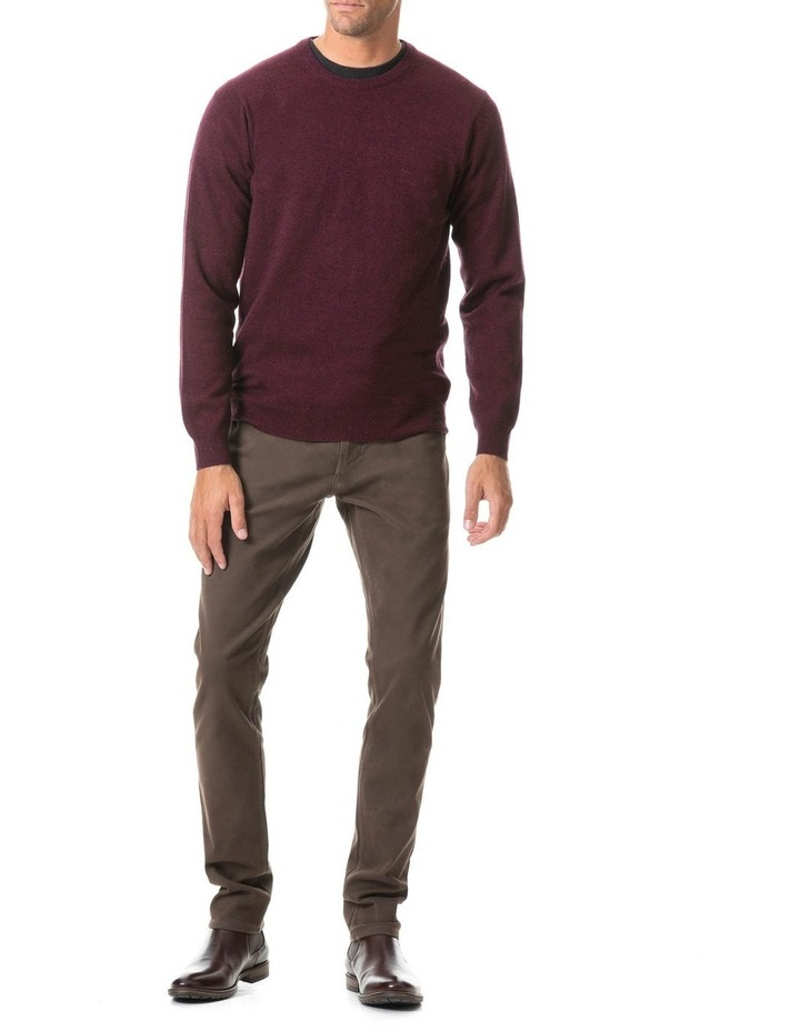 Wellington Knit - Claret image 4