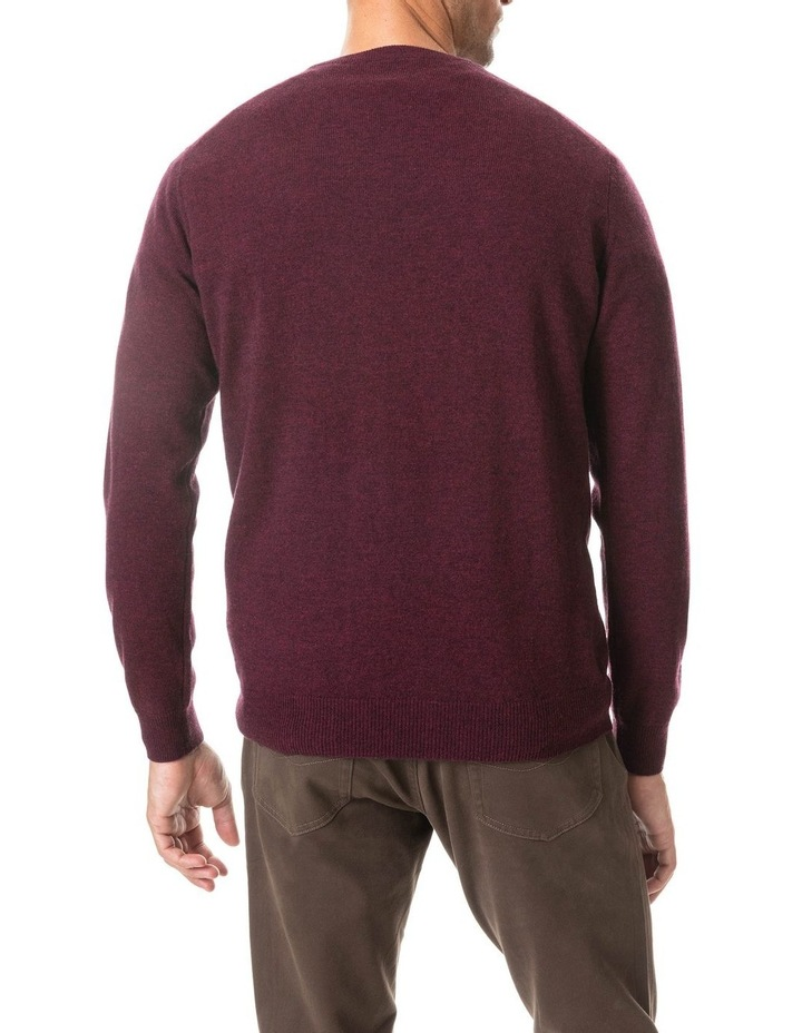 Wellington Knit - Claret image 5