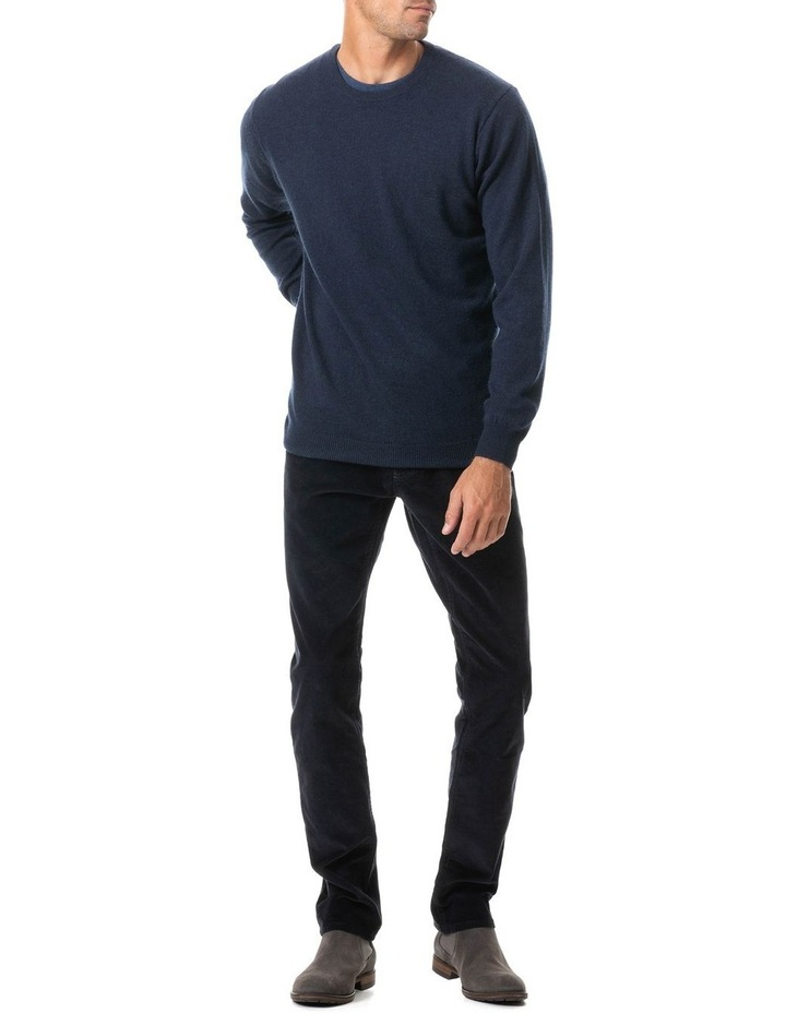 Stirling Straight Jean Short Leg -  Navy image 3