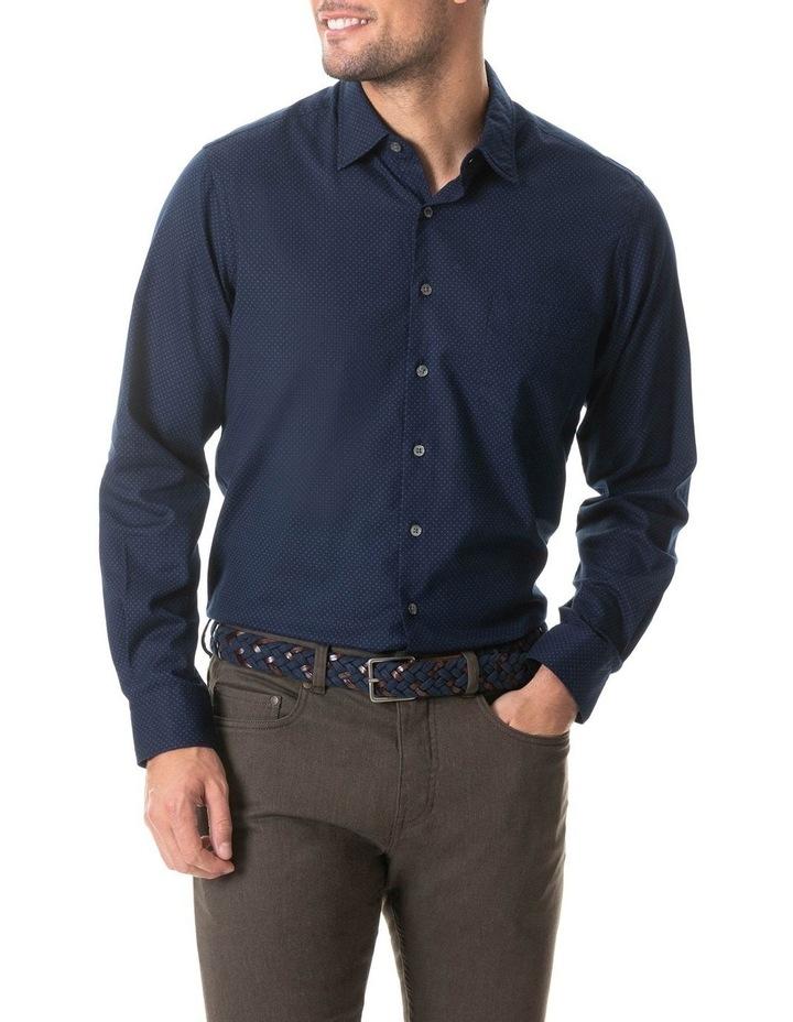 Northcote Long Sleeve Shirt - Ink image 1