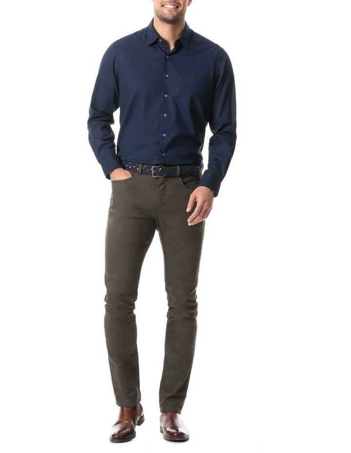 Northcote Long Sleeve Shirt - Ink image 3