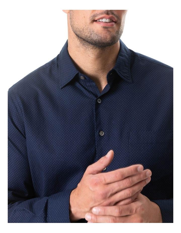 Northcote Long Sleeve Shirt - Ink image 4