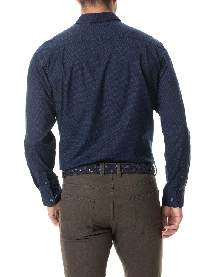 Northcote Long Sleeve Shirt - Ink image 5