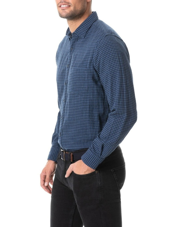 Dannemore Sports Fit Shirt - Indigo image 2
