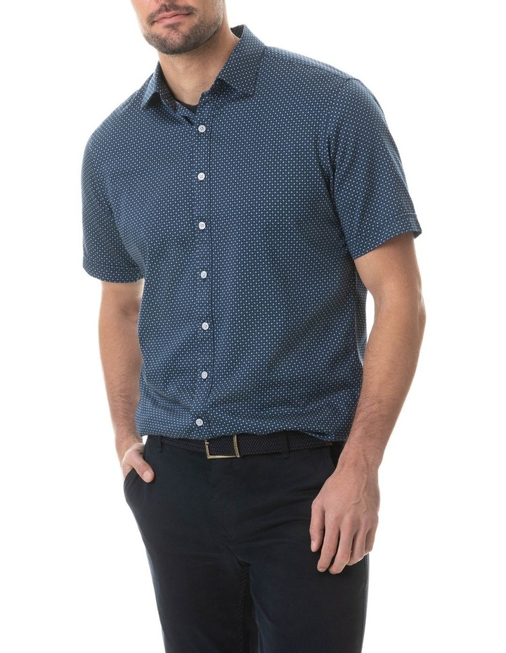 Greenfields Short Sleeve Shirt - Marine image 1