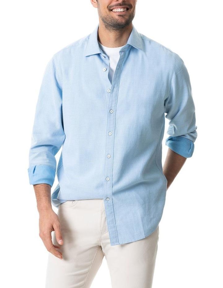 Dunhurrow Long Sleeve Shirt - Sky image 1
