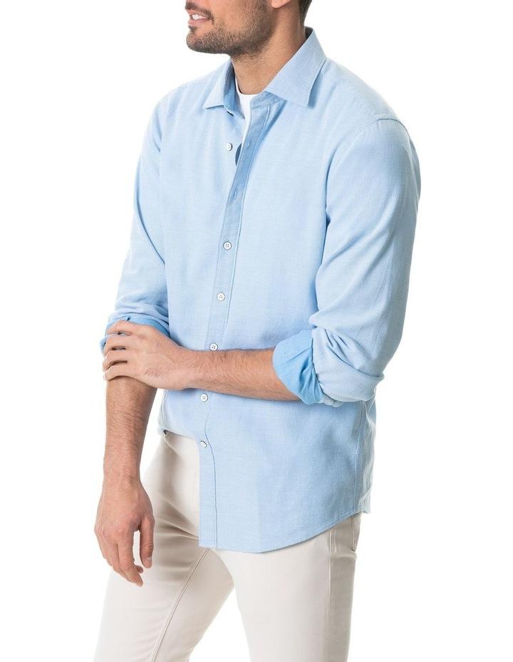 Dunhurrow Long Sleeve Shirt - Sky image 2