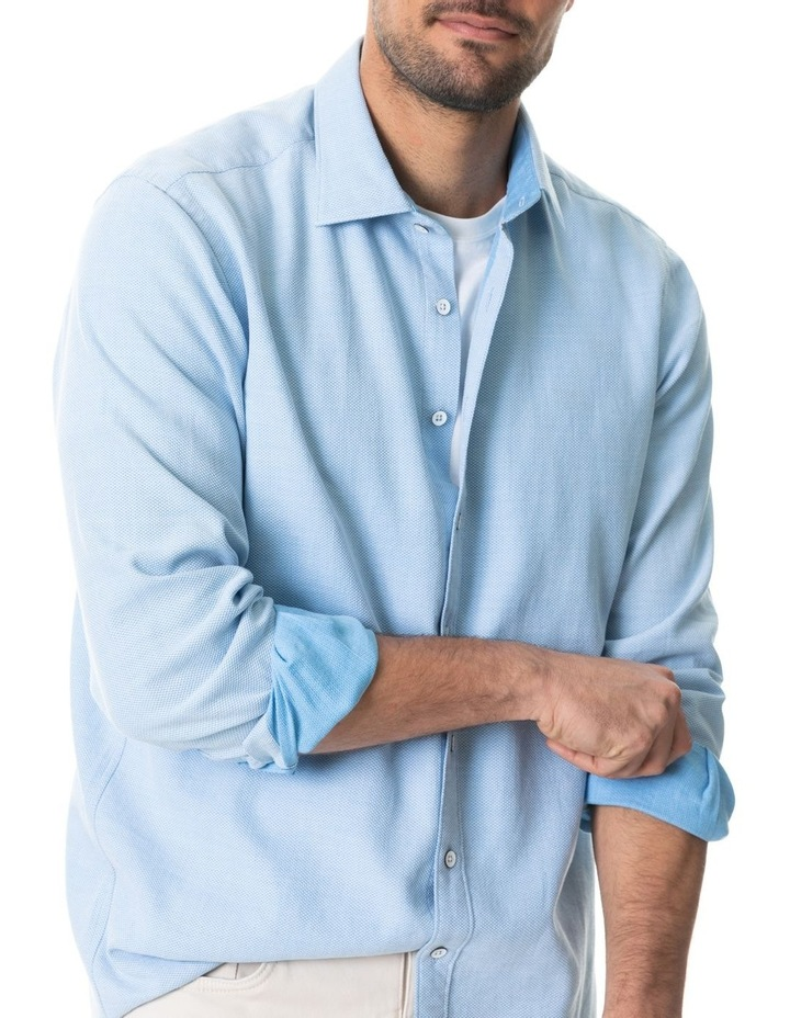 Dunhurrow Long Sleeve Shirt - Sky image 4