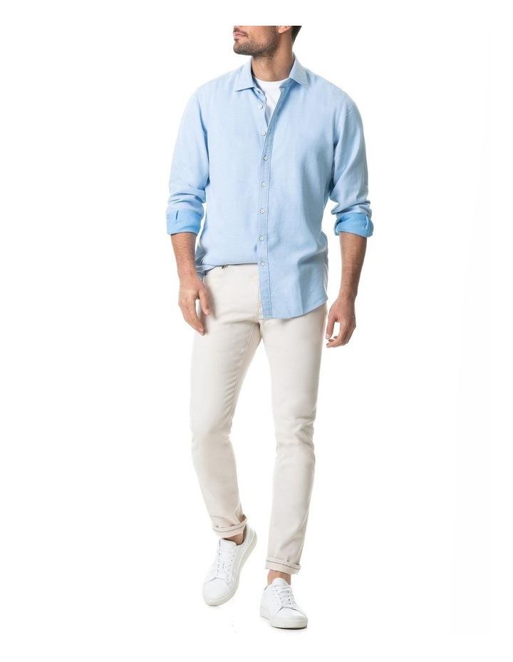 Dunhurrow Long Sleeve Shirt - Sky image 5