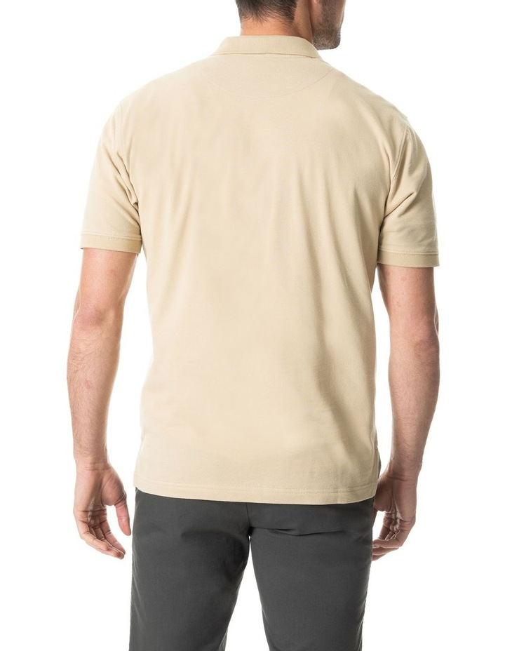 The Gunn Original Fit Polo - Straw image 3