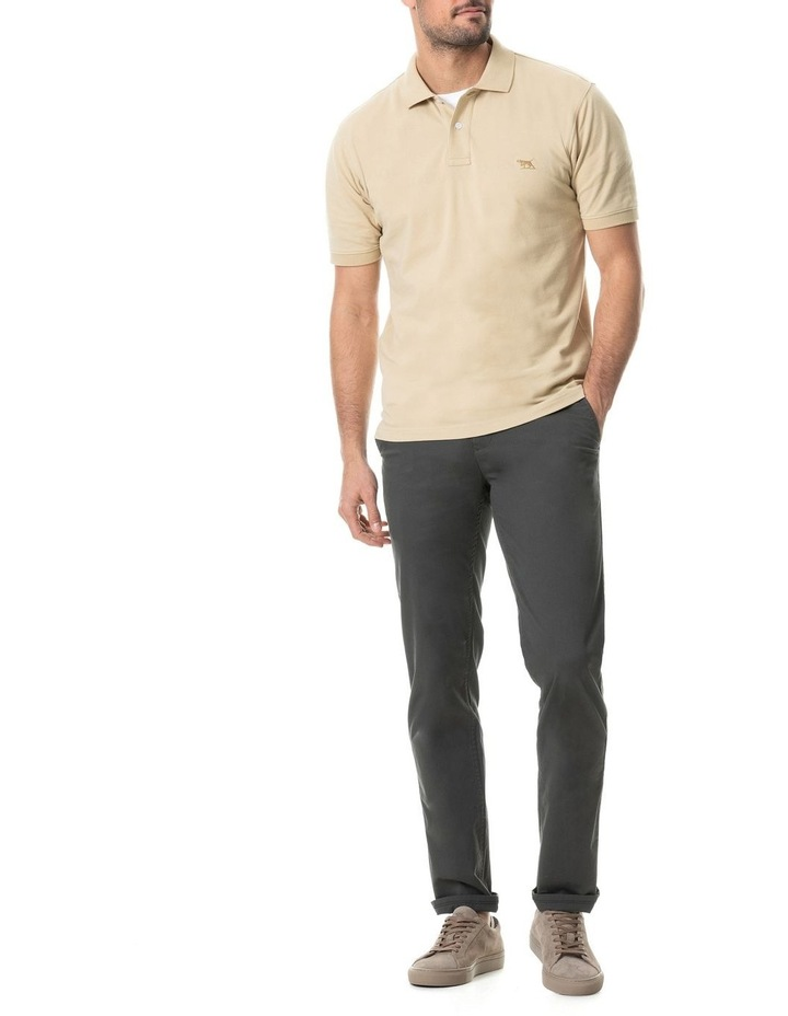 The Gunn Original Fit Polo - Straw image 5