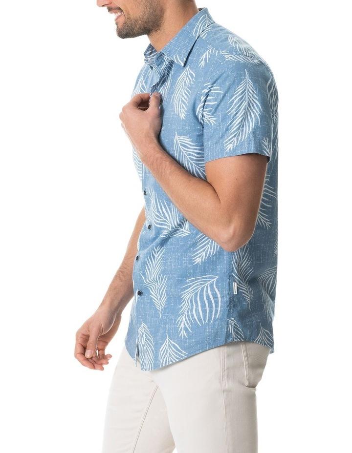 Martains Bay Short Sleeve Sports Fit Shirt - Stonewash image 2