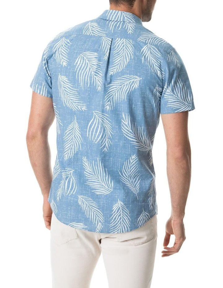 Martains Bay Short Sleeve Sports Fit Shirt - Stonewash image 3