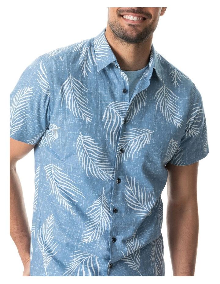 Martains Bay Short Sleeve Sports Fit Shirt - Stonewash image 4
