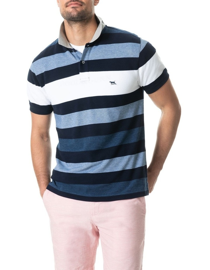 Bennets Sports Fit Polo - Harbour image 1