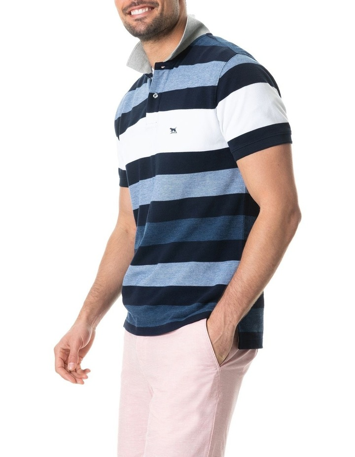 Bennets Sports Fit Polo - Harbour image 2