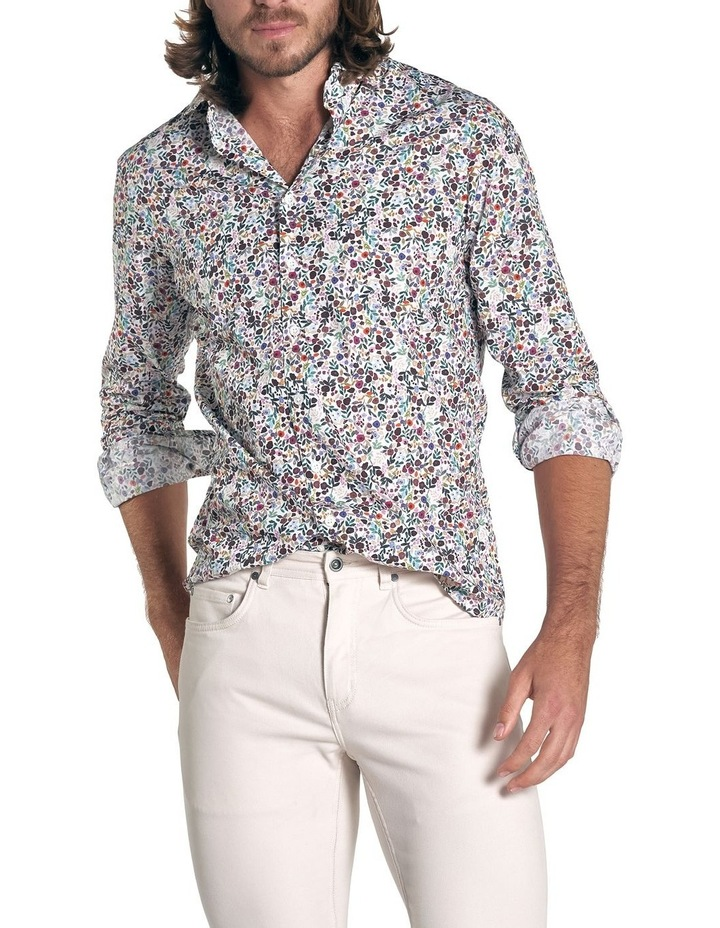 Clarksville Sports Fit Long Sleeve Shirt - Plum image 1