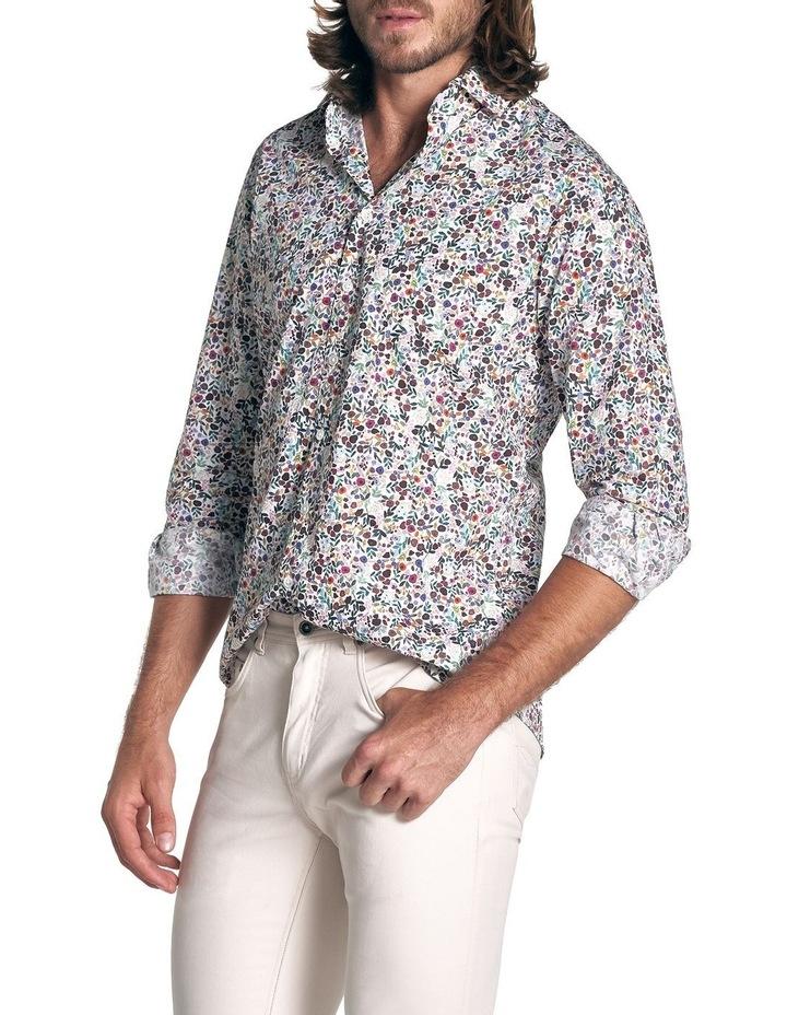 Clarksville Sports Fit Long Sleeve Shirt - Plum image 3