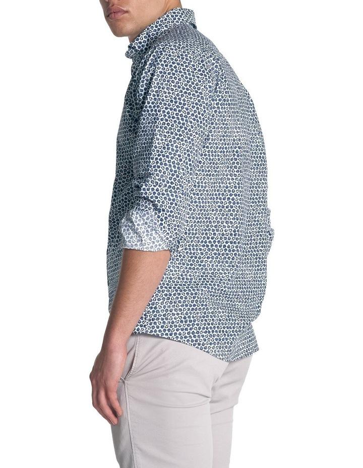Ocean Grove Long Sleeve Sports Fit Shirt - Marine image 4