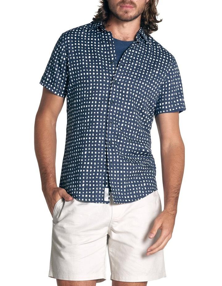 Lydbrook Short Sleeve Sports Fit Shirt - Ink image 1