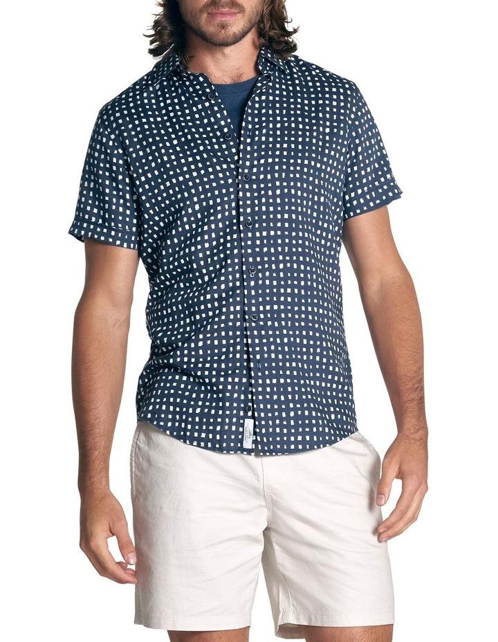 Lydbrook Short Sleeve Sports Fit Shirt - Ink image 3